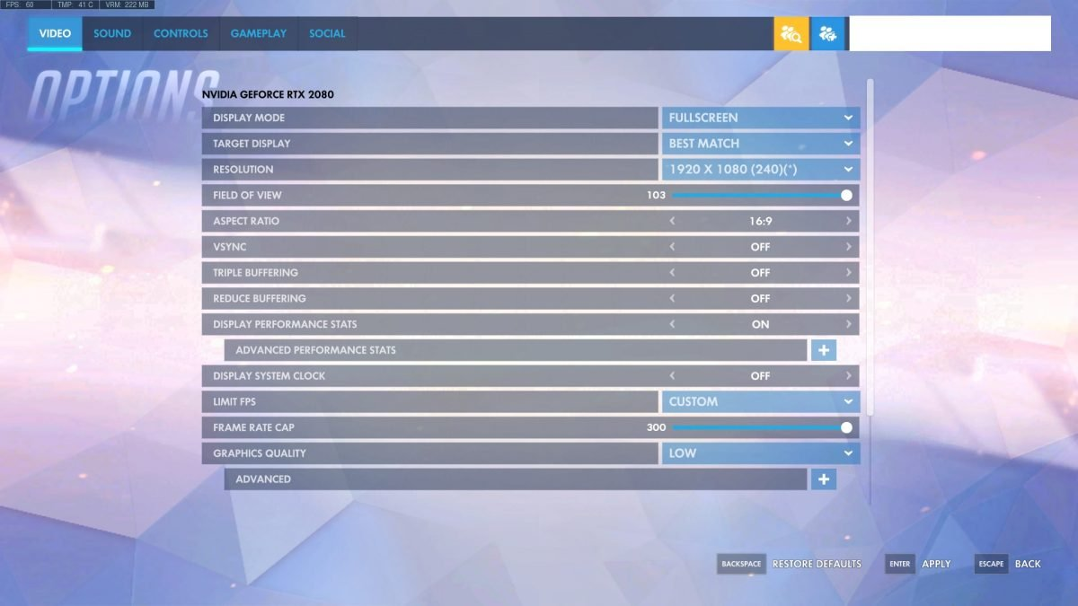 Overwatch Video Settings Explained in Plain English